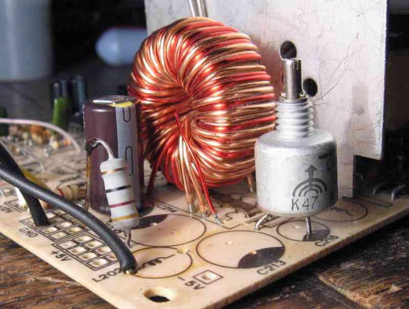 размещение токового датчика -