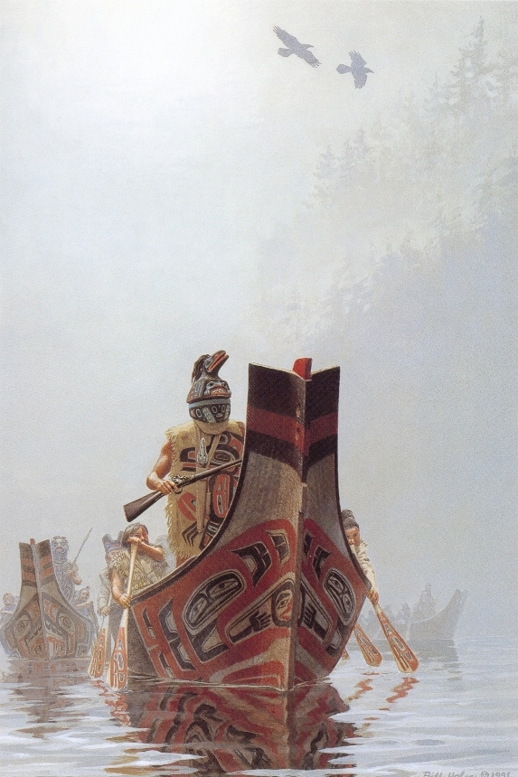 Raven Warrior, 1991, Tlingit